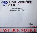 TWC Past Due Notice